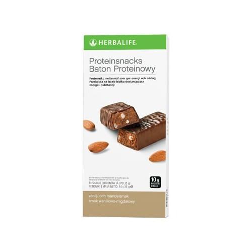 Baton proteinowy waniliowo-migdałowy 14szt