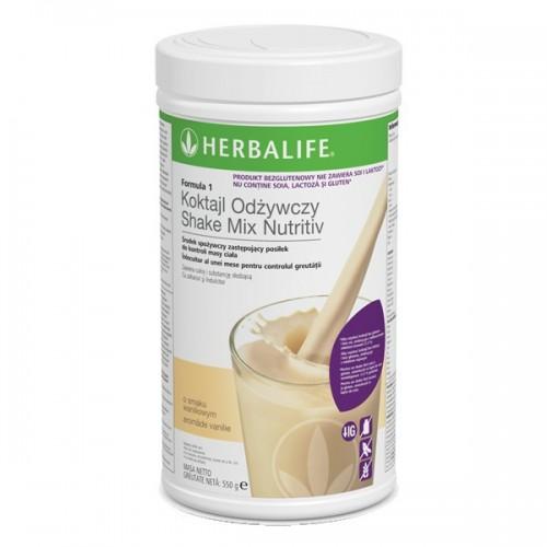 Koktajl odżywczy BEZGLUTENOWY -  bez soi oraz laktozy